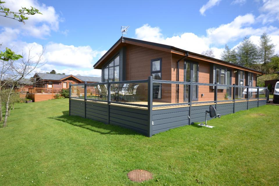 Image of Show Lodge Plot 21 Riverview Holiday Park